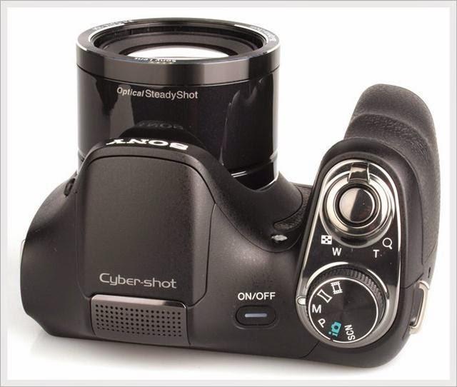 Harga dan Spesifikasi  Sony Cyber-shot DSC H200 20MP