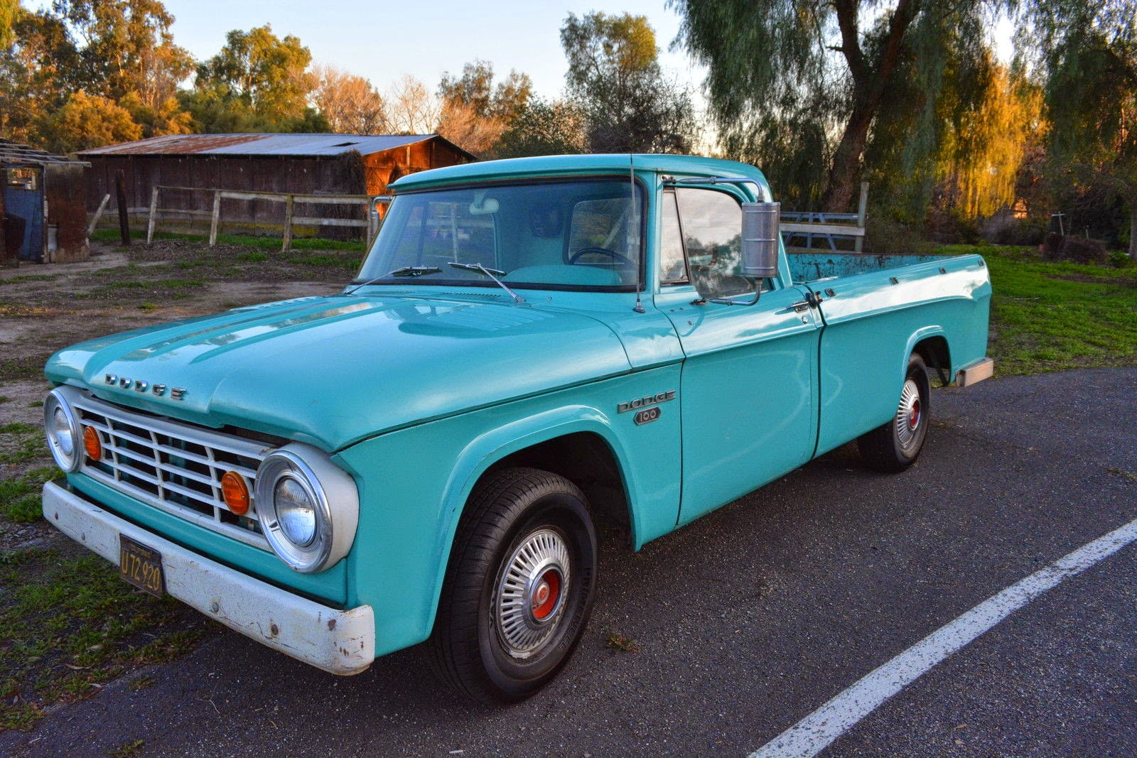 All American Classic Cars: 1966 Dodge D100 Pickup Truck