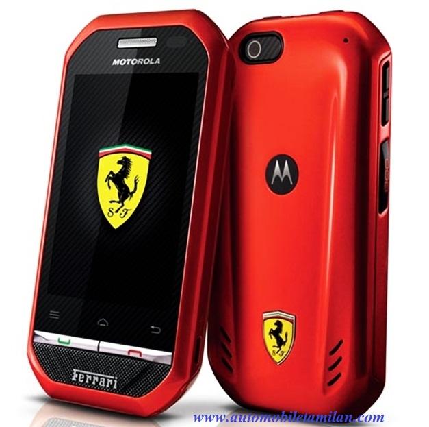 ferrari motorola andriod smartphone