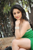 Ankita Sharma Hot photo shoto in Green-thumbnail-15