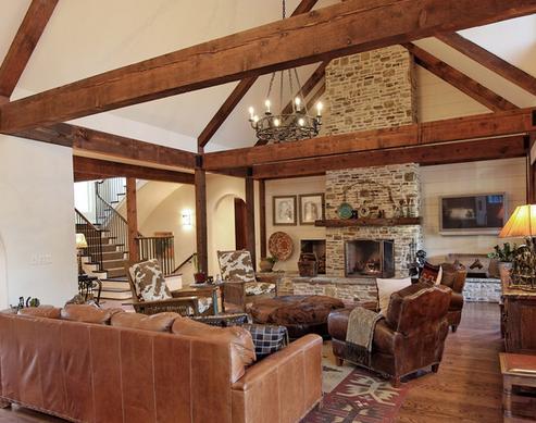 Tr s em casa casas r sticas - Casa de madera rustica ...