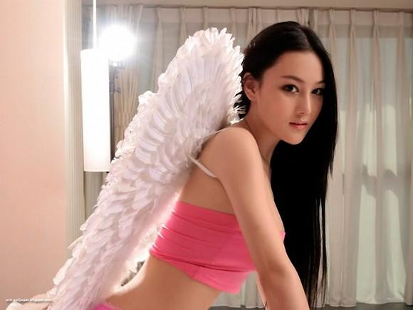 Girls Beauty Wallpaper Zhang Xinyu 28