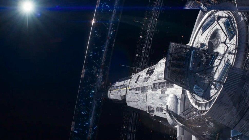 Elysium Space Station ...