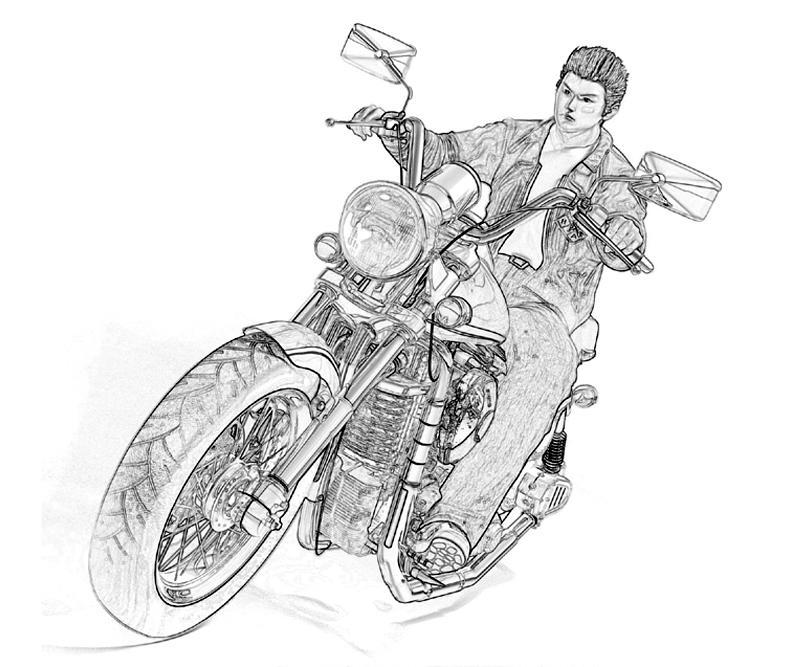 shenmue-ryo-hazuki-hd-coloring-pages