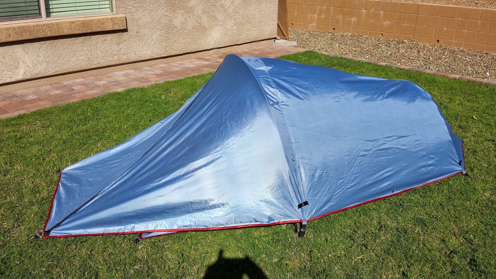 Texsport Saguaro Bivy Shelter Tent has a add-on vestibule? that extends storage & Texsport Saguaro Bivy Shelter Tent