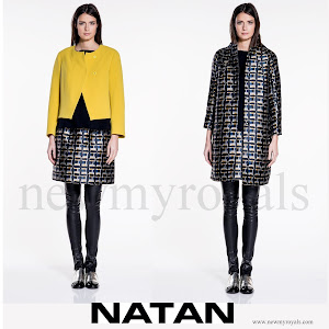 Queen Mathilde Style NATAN-Coat-and Skirt
