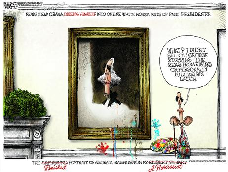 obama narcississt