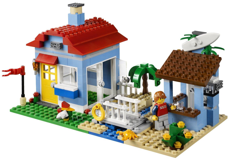 my lego style  lego creator seaside house 7346