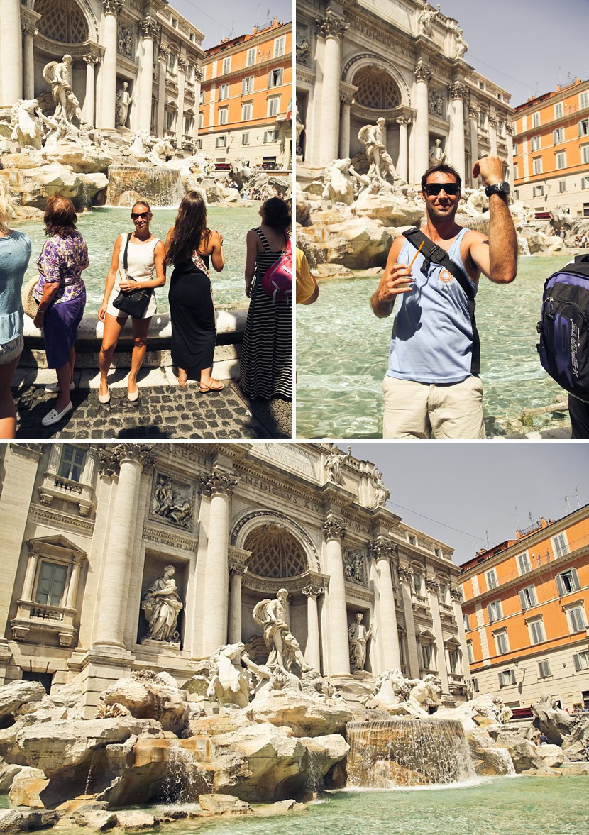 trevi fountain rome photo