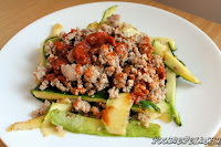 http://foodiefelisha.blogspot.com/2013/09/turkey-with-zucchini-pasta.html