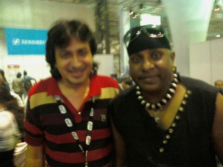 Raj Juriani With
