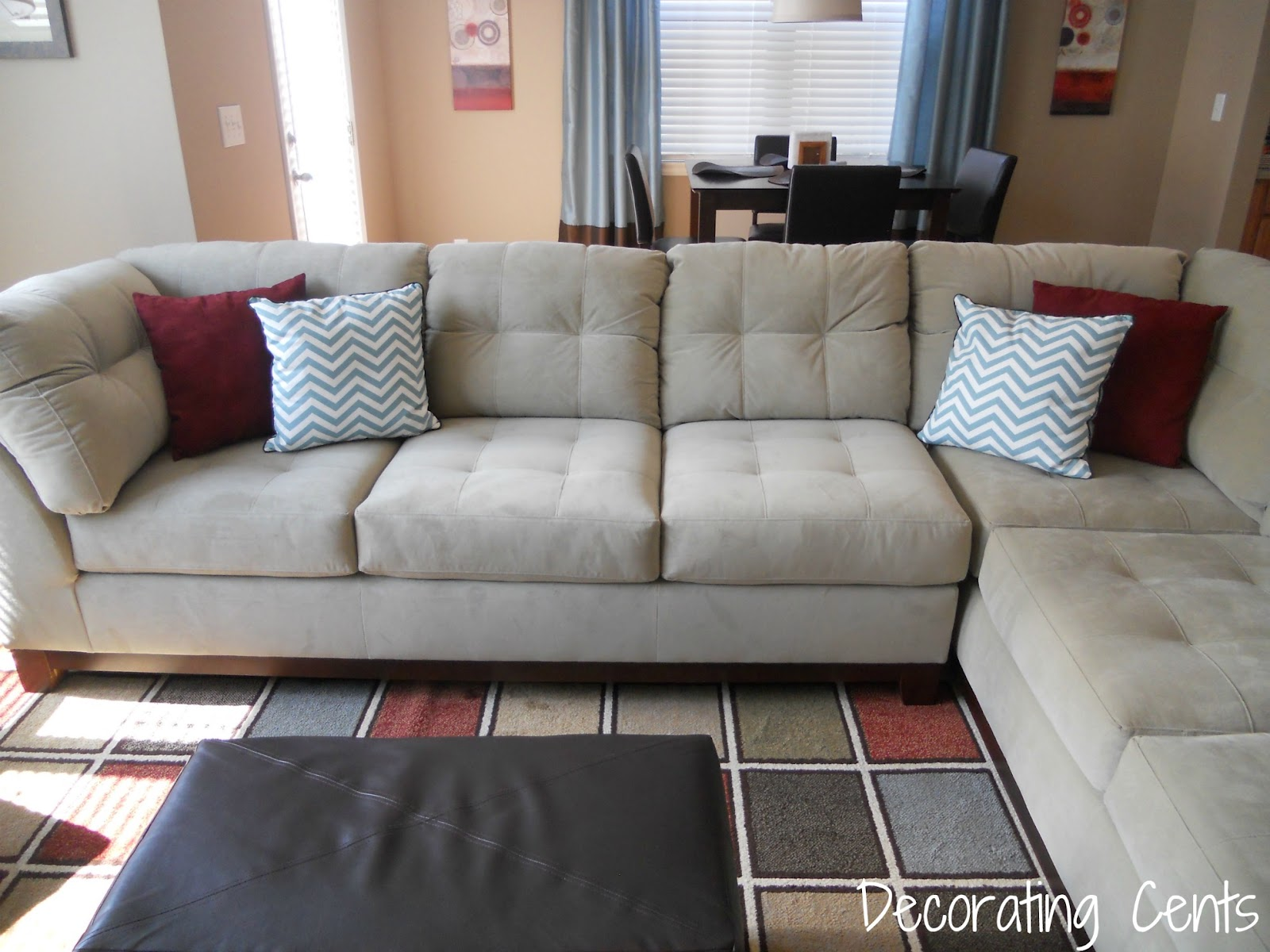 Decorating Cents: The New Family Room