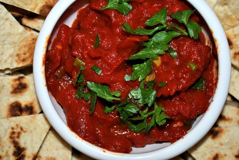 my kaotic kitchen: matbucha aka moroccan tomato dip