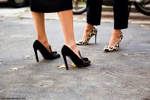 Leopard Shoes Street Style Fashion