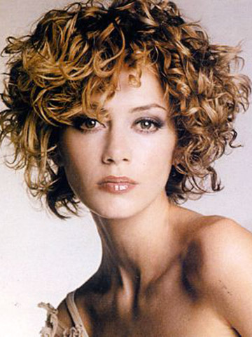long bob hairstyle short haircuts for curly hair can