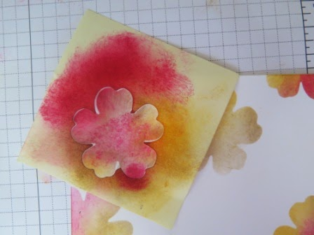 Let's start at the very beginning sponging zena kennedy independant stampin up demonstrator