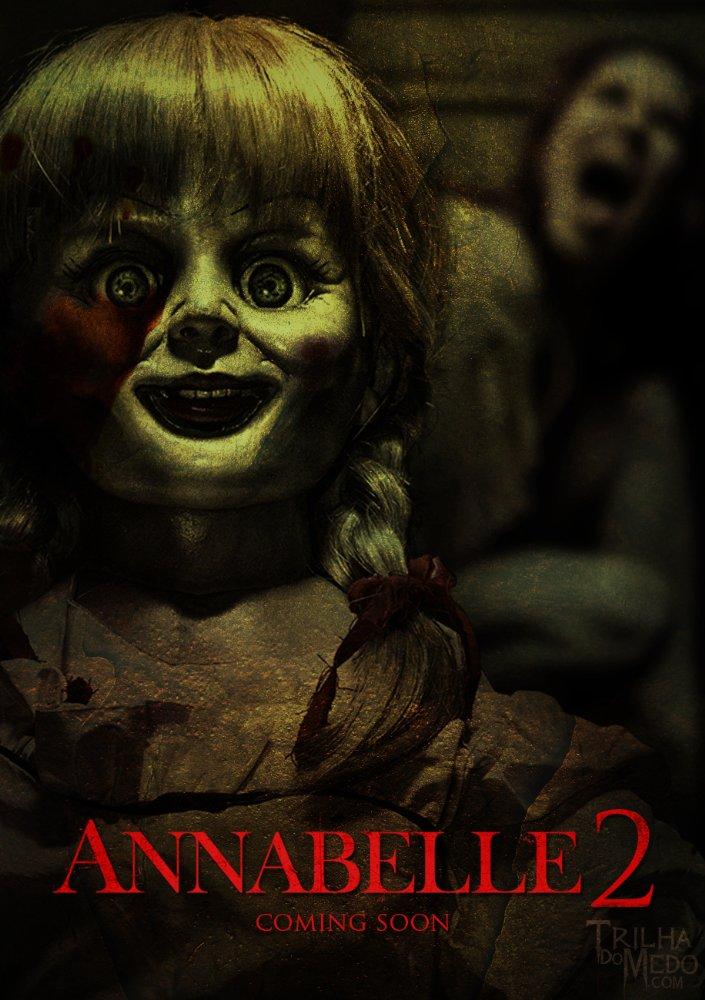 Annabelle 2 La Creacion (2017) [BrRip 720p][Latino][MEGA]