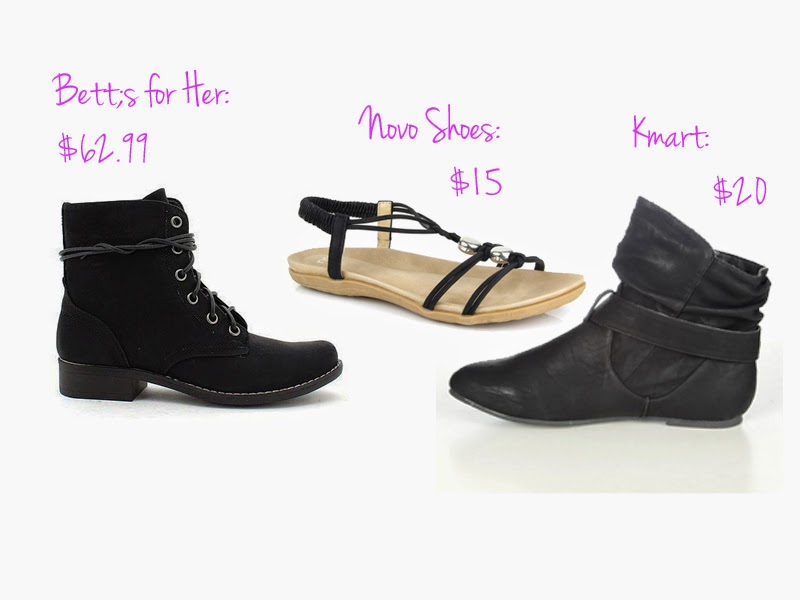 flatlay, fashion, womens fashion, fashion blog, flat lay, retail therapy, comfort shopping, personal shopping, betts for her, betts shoes, novo shoes, kmart, kmart shoes, bett's, womens shoes, winter shoes, sandals, boots, ankle boots