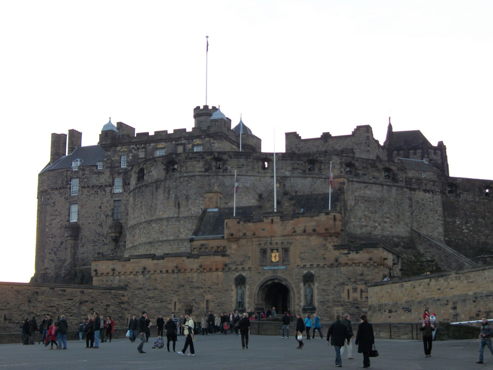 Edinburgh castle kilt shop