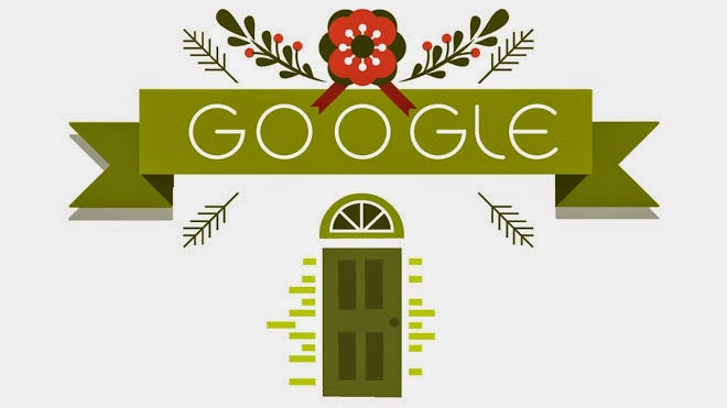 'Tis the season! Holidays 2014 (Day 3) Google Holiday Doodle 2014