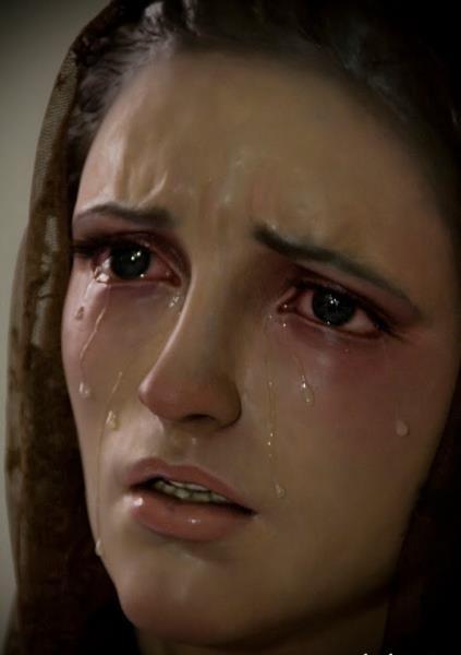 Resultado de imagem para imagem de nossa senhora das dores chorando