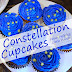 Easy Constellation Cupcakes - Space Party Treats