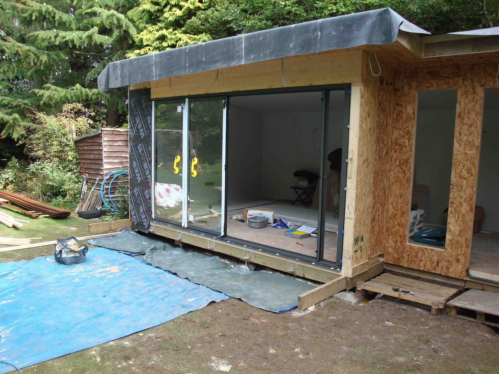 Shedworking park farm design for Build your own garden room