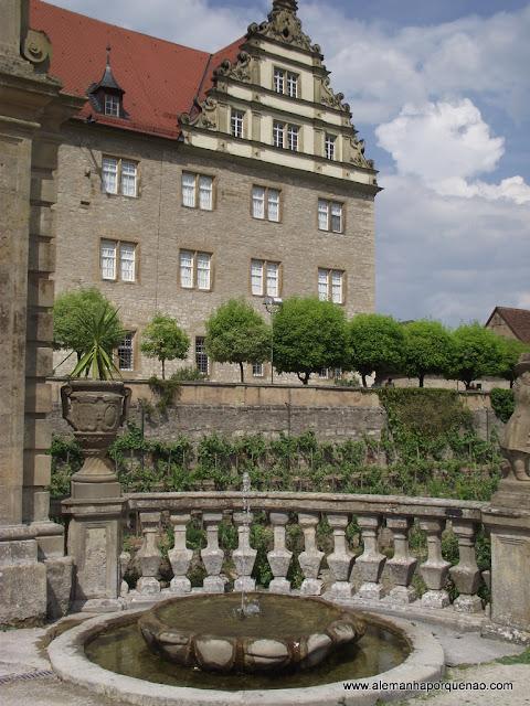 Castelo dos Condes de Hohenlohe, em Weikersheim