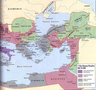 Roman Empire Eastern Border Ad 300 Historical Maps