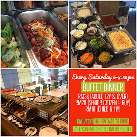 The LimeTree Hotel Hearty Saturday Buffet Dinner 2018