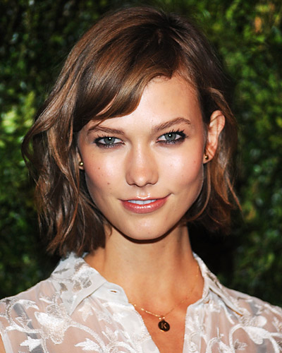 FrenchCoat Karlie Kloss New Haircut