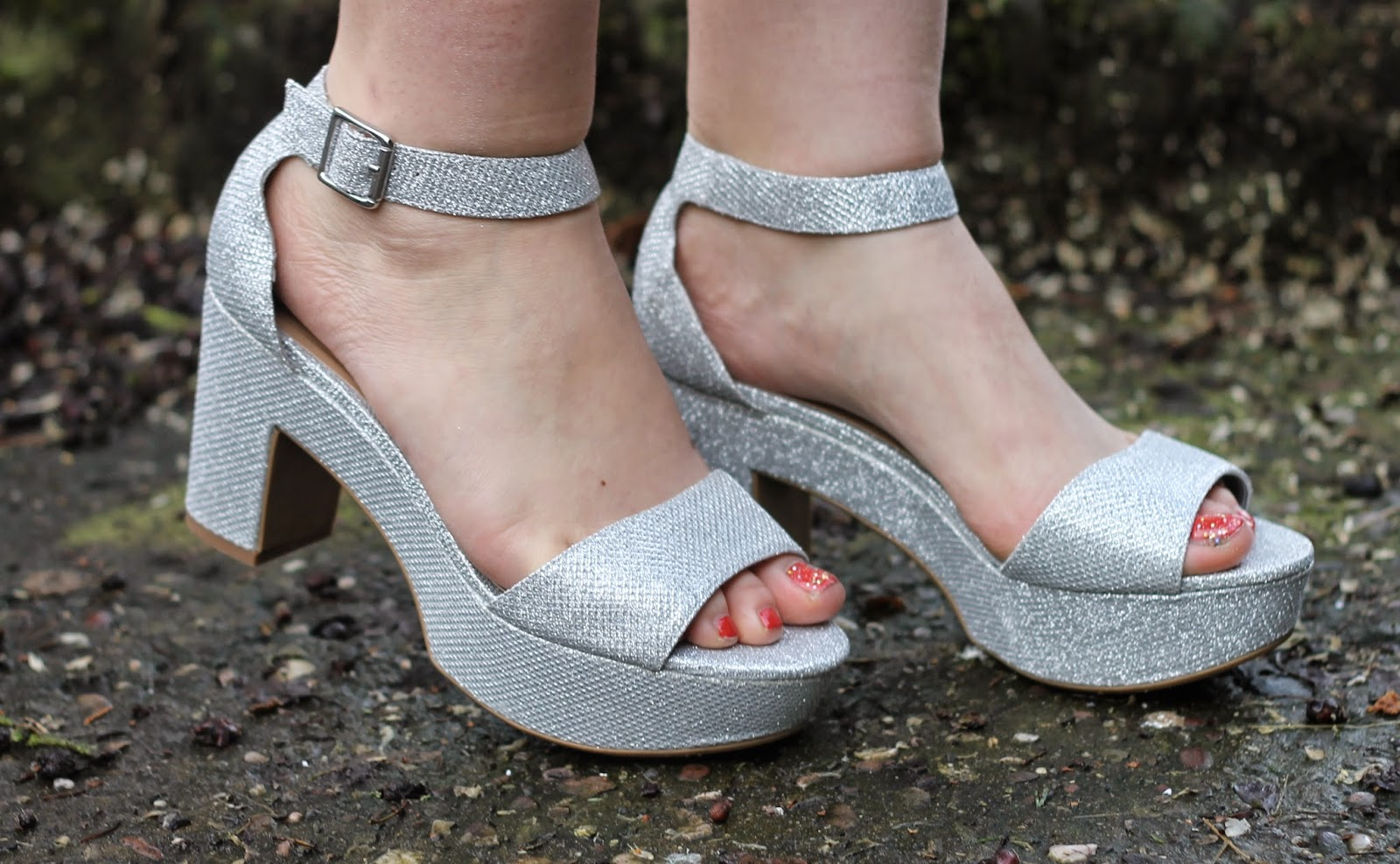 New Look silver shoes