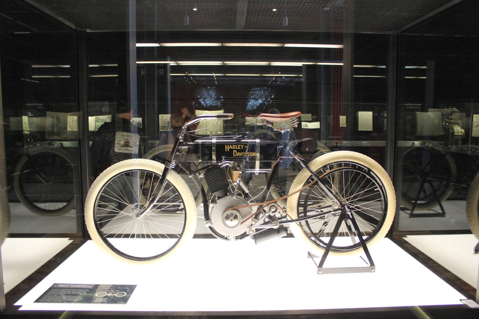 First Harley Davidson: Covering Classic Cars : The Harley-Davidson Museum In