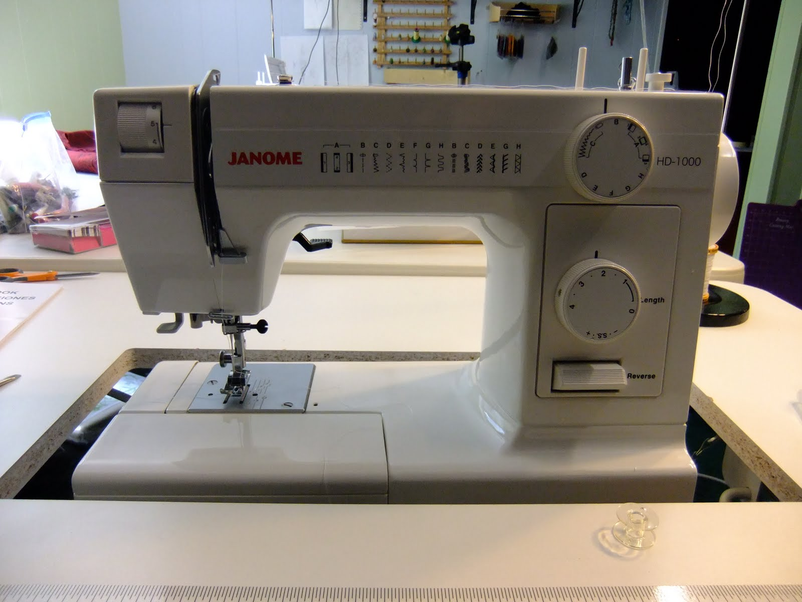 The Free Motion Quilting Project: General Sewing on the Janome HD 1000 : janome free motion quilting - Adamdwight.com