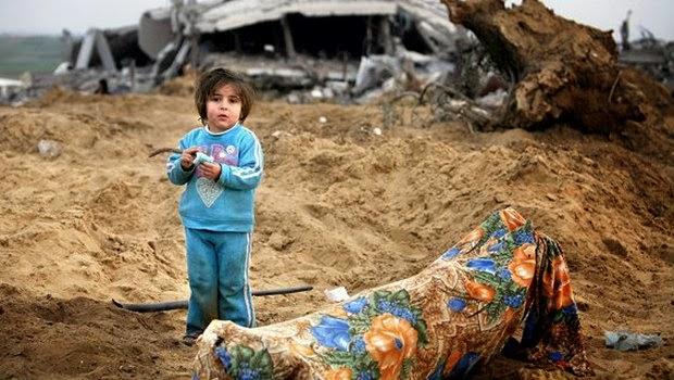 Pesan Singkat dari Seorang Anak di Gaza yang Cukup mengharukan