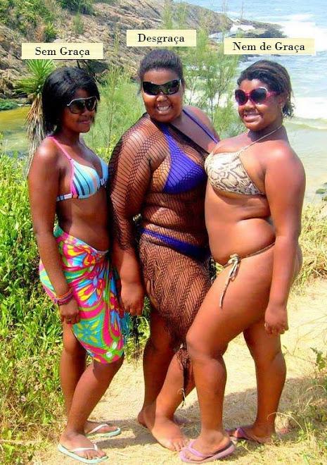 Graças mulheres gordas e feias.