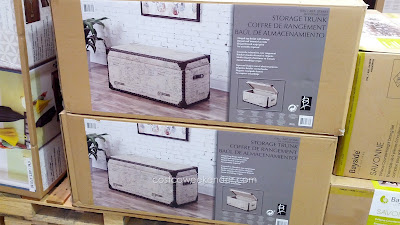 Bainbridge Home Avril Fabric Storage Trunk – A classic look with functional storage space