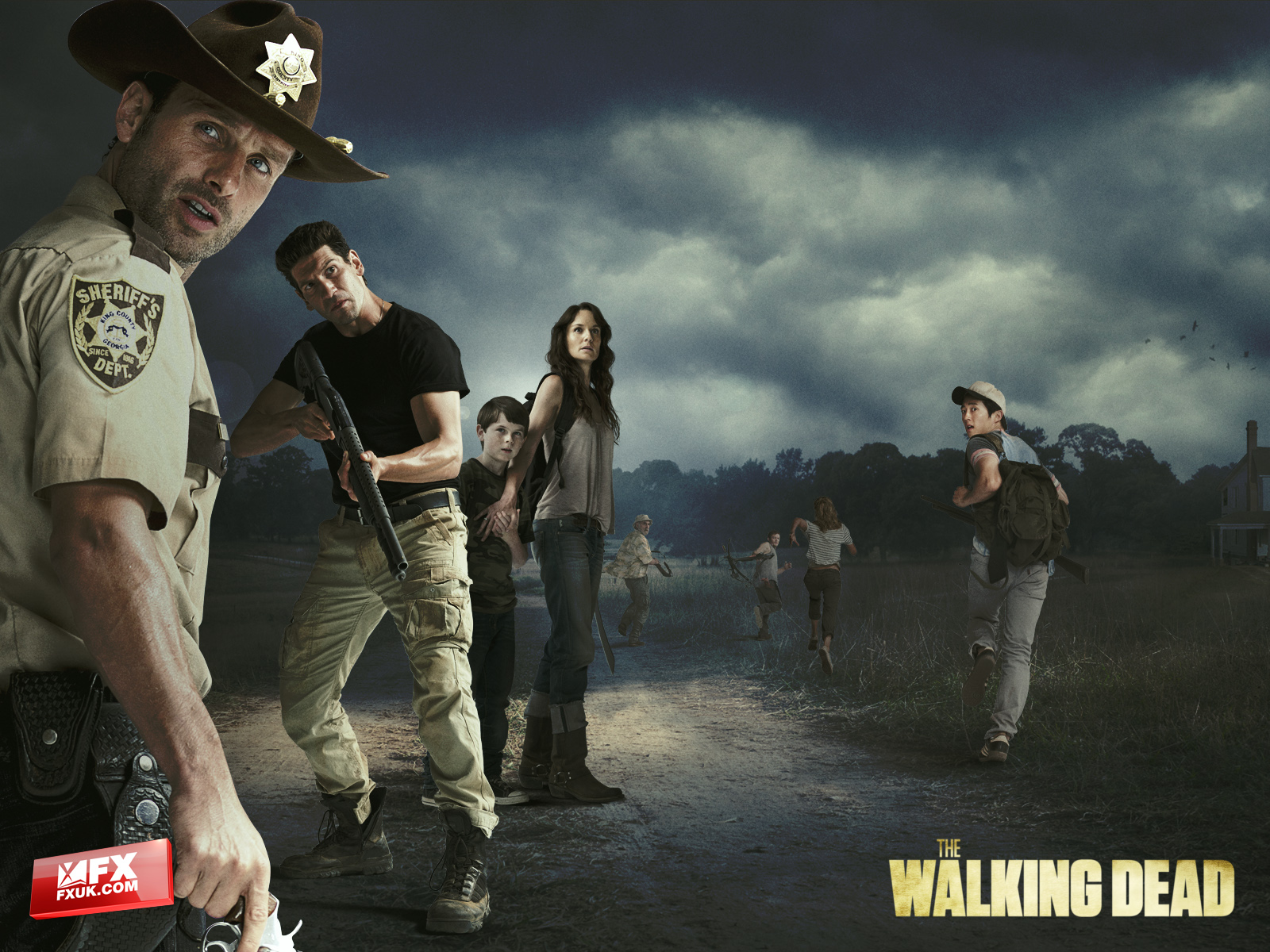 The Walking Dead Duvar Kağıdı 1