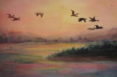 Cranes over the Platte