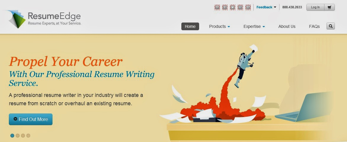 Resume writing services reviews: Resume Edge Review