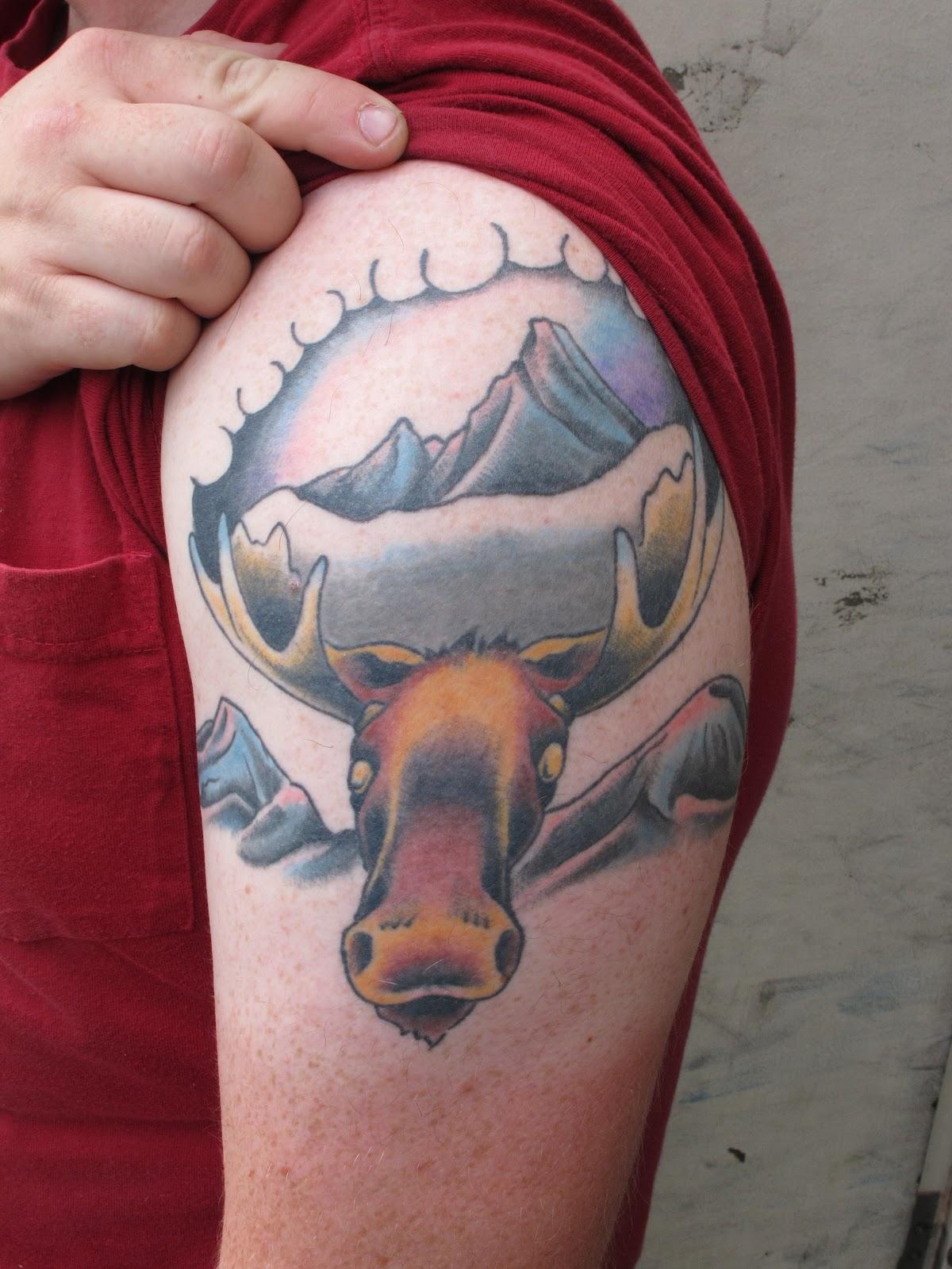 Wild Tattoos Moose Tattoos