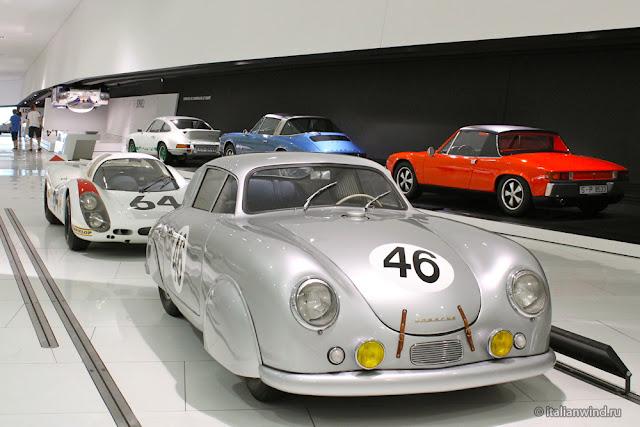 Porsche 356 Speedster Prototype, 1954 г.