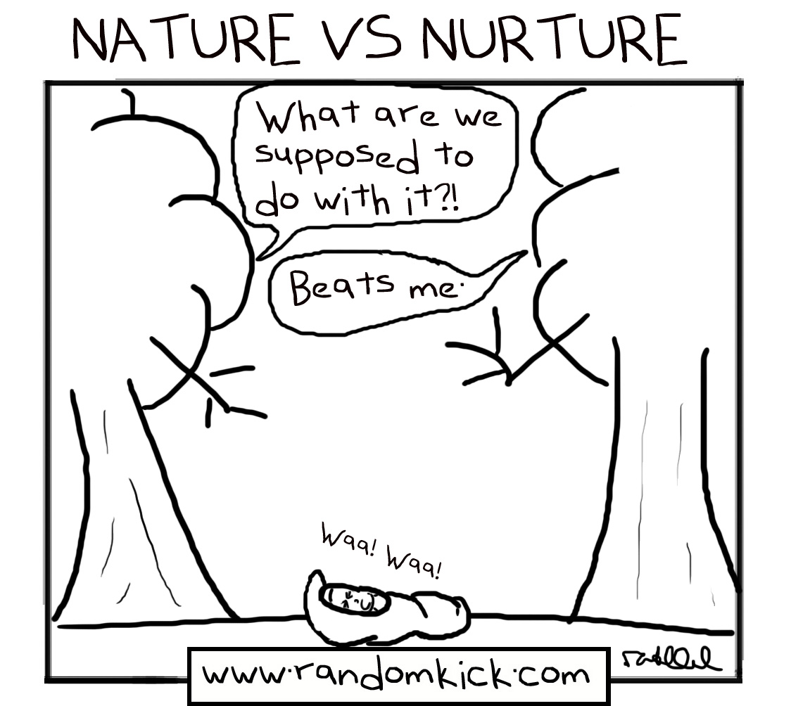 essay of nature versus nurture