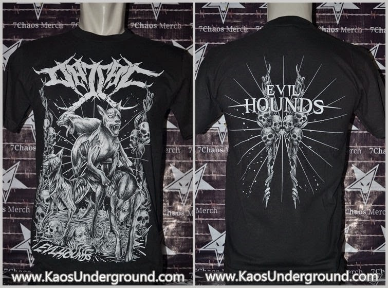 kaos band dajjal deathmetal underground heretic