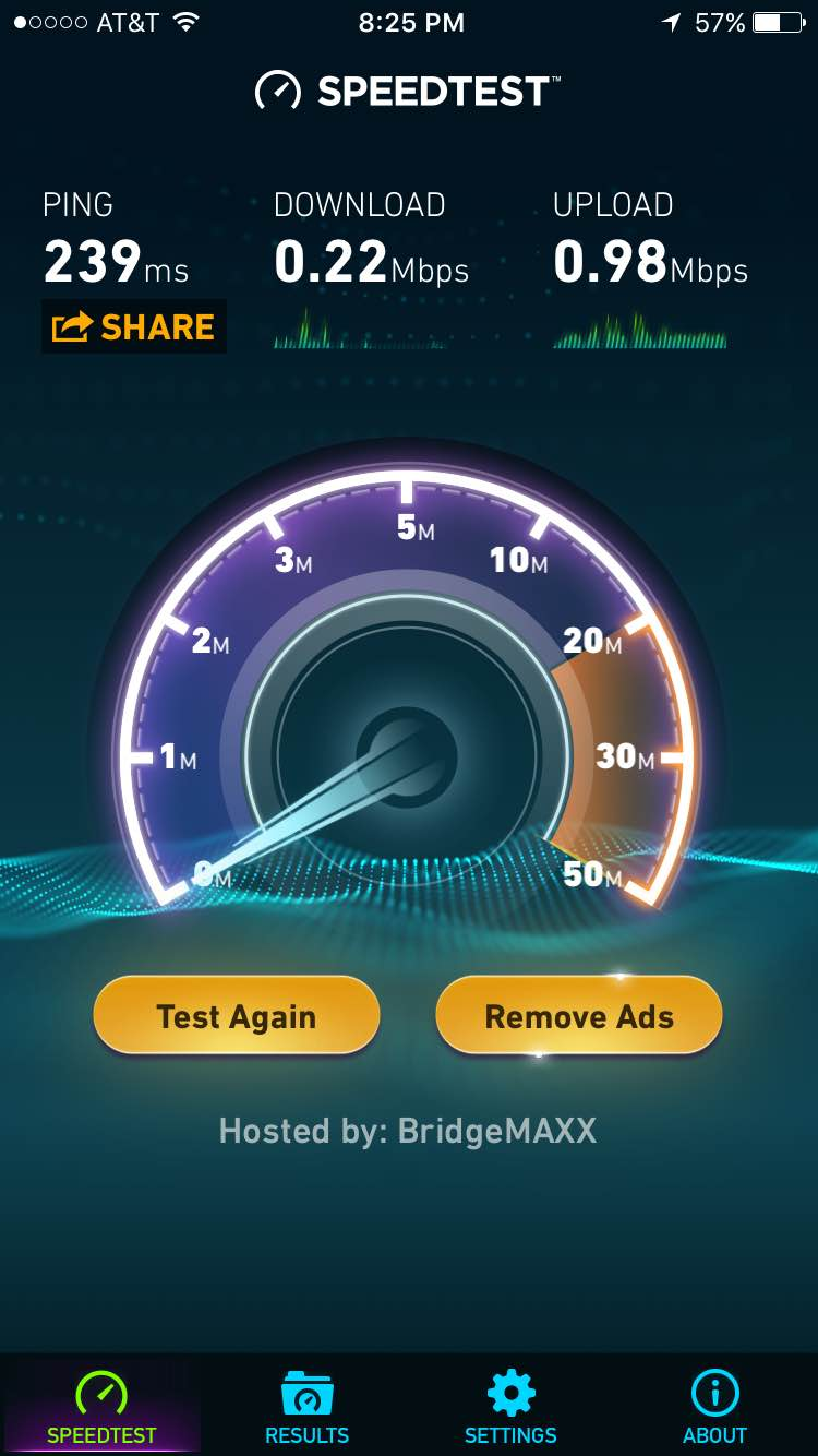 Frontier Speed Test >> My Slow Dsl Speeds From Frontier Communications Speed Test