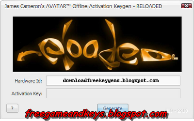 download free avatar games keygen
