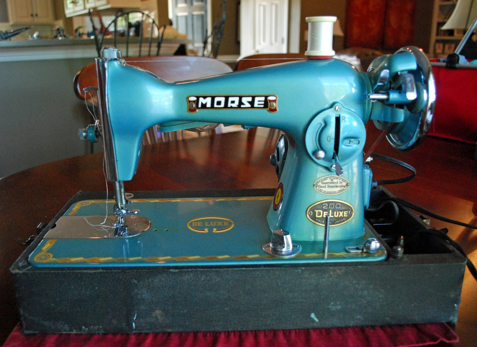 morse 200 deluxe sewing machine