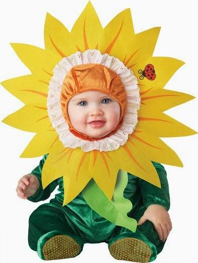 Infant Unisex Baby Sunflower Costume