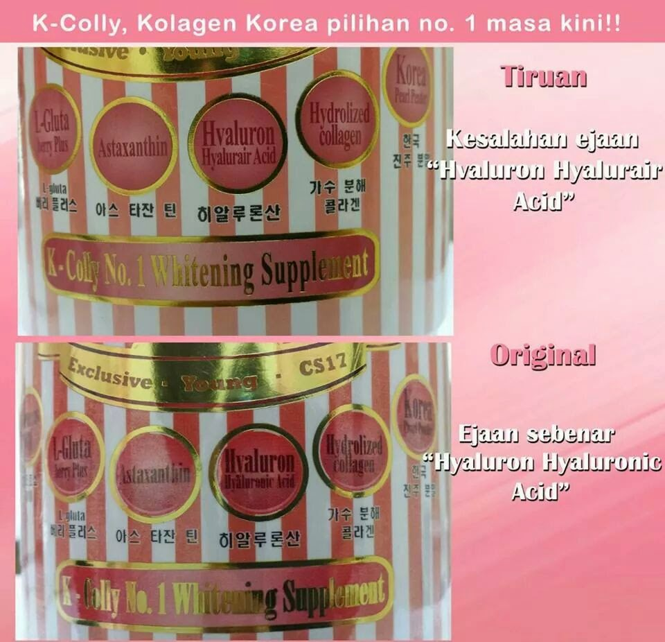K Colly Collagen K Colly Sweet 17 original