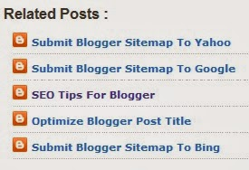 Related Posts Blogspot